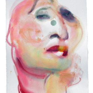 o.T., Aquarell auf Papier, 40 cm x 28 cm, 2011