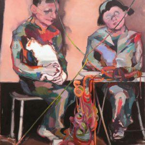 Aimée, Öl auf Leinwand, 200 cm x 140 cm, 2014
