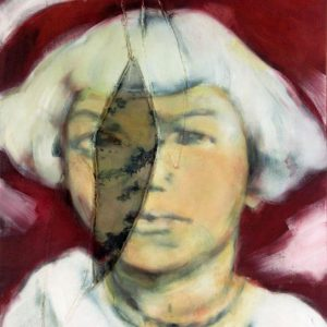 Gestern und morgen, 2007, Öl auf Leinwand, 110 cm x 100 cm
