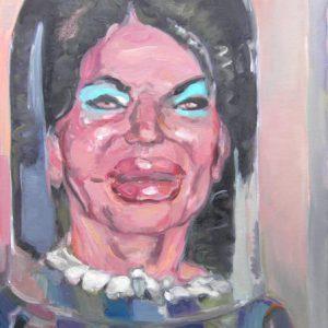 Gina, 2013, Öl auf Leinwand, 80 cm x 60 cm