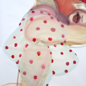o.T., Mischtechnik auf Papier, 130 cm x 85 cm, 2016