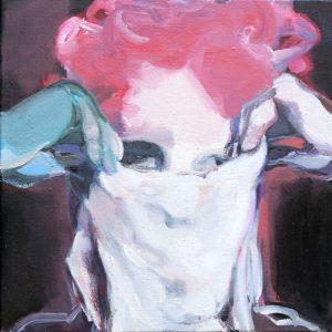 Undercover I, Öl auf Leinwand, 60,5 cm x 59,5 cm, 2016