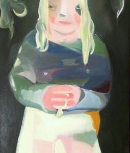 """No Regrets"", Öl auf Leinwand, 175cm x 70cm, 2020"