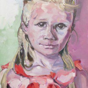 Lea, Bäuerin, 2015, Öl auf Leinwand, 100 cm x 80 cm