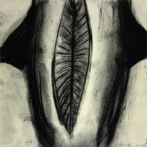 o.T., Pastellkreide auf Papier, 32 cm x 32 cm, 1997