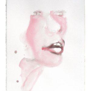 o.T., Aquarell auf Papier, 40 cm x 28 cm, 2010