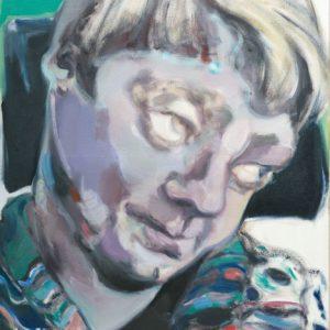Pamela, Bäckerin, 2015, Öl auf Leinwand 100 cm x 80 cm