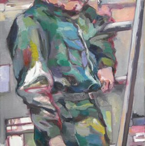 Paul, Öl auf Leinwand, 140 cm x 70 cm, 2014