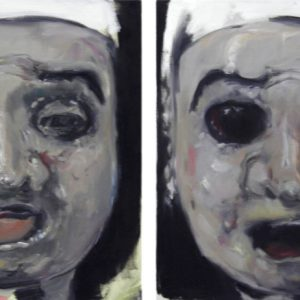 before and after, 2011, Öl auf Leinwand, je 61 cm x 58 cm