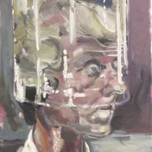 Behütet, 2013, Öl auf Leinwand 80 cm x 60 cm