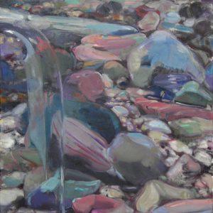 La Nuit, 2014, Öl auf Leinwand 65,5 cm x 65 cm