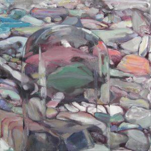 Le Jour, 2014, Öl auf Leinwand 65,5 cm x 65 cm