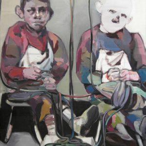 les jeux sonts faits, Öl auf Leinwand, 150 cm x 110 cm, 2014