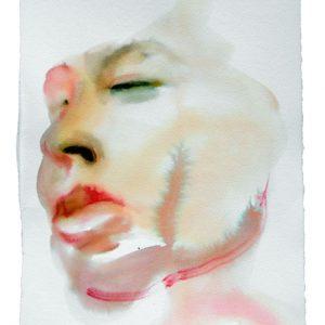 o.T., Aquarell auf Papier, 40 cm x 28 cm, 2012