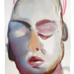 o.T.,Aquarell auf Papier, 40 cm x 28 cm, 2011