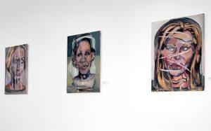Ahnen 36. Ausstellung in der Galerie per-seh, 2014
