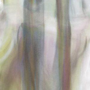 o.T., 2014, Aquarell auf Papier,130 cm x 70 cm