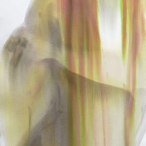 o.T. , Aquarell auf Papier 130 cm x 70 cm, 2014