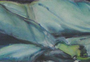 Cecilia, Öl auf Leinwand, 45 cm x 190 cm, 2009