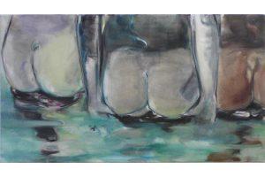 Mira, Öl auf Leinwand, 100 cm x 180 cm, 2009