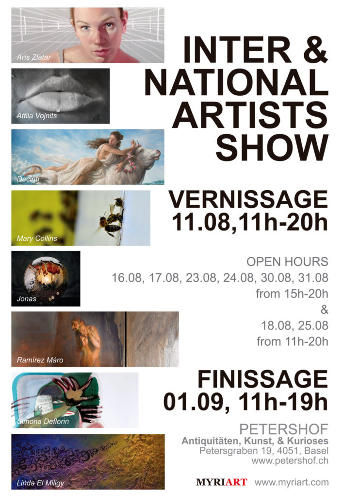 Flyer International Artist Show