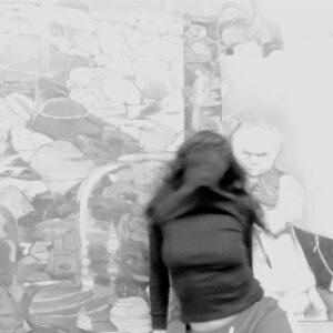 "o.T. aus der Serie ""studiojumps"", Fotografie, 1/3, ca 22cm x 16cm, 2019"