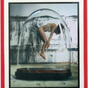 """Primi Passi"", aus ""Dome of Desire"", Fotografie auf Karton, Klebeband, Glas, 1/3 + 1AP, 23.5cm x 20cm, 2020/21"
