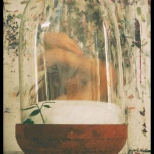 """Neve"", aus ""Dome of Darkness"", Fotografie auf Karton, Klebeband, Glas, 1/3 + 1AP, 23.5cm x 17cm, 2021"
