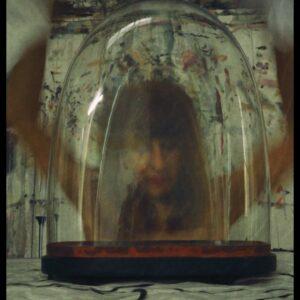 """Freddy"", aus ""Dome of Darkness"", Fotografie auf Karton, Klebeband, Glas, 1/3 + 1AP, 23.5cm x 17cm, 2021"