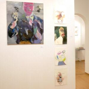 Salon der Galerie KUNSTKOMPLEX+MENNUNI