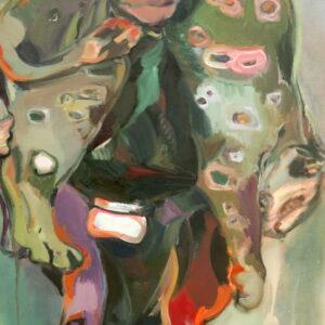 """""""Crepuscolo"""", Öl auf Leinwand, 131cm x 80cm, 2019"""